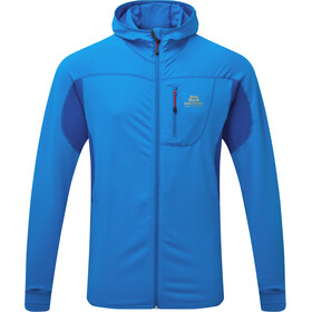Mountain Equipment Eclipse Chaqueta Capucha Hombre, finch blue/lapis